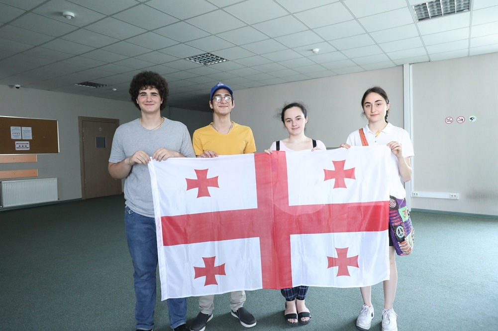 Georgian national team participates at the International Chemistry Olympiad